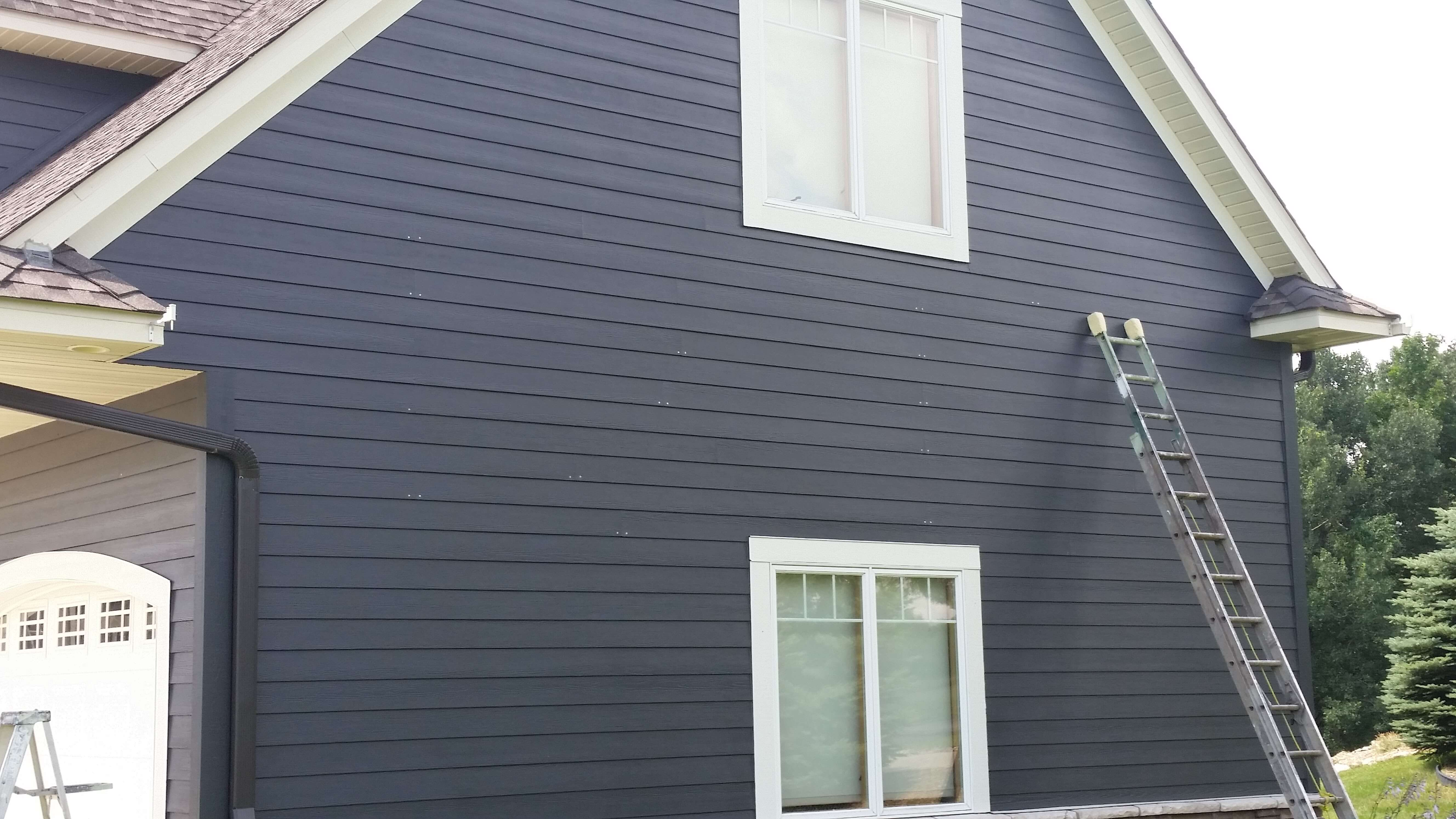 Exterior and interior painting job in woodbury mn complete custom paint - Exterior paint jobs model ...